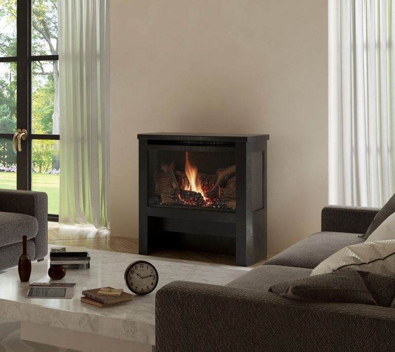 LOPI CYPRESS FREESTANDING GAS FIREPLACE