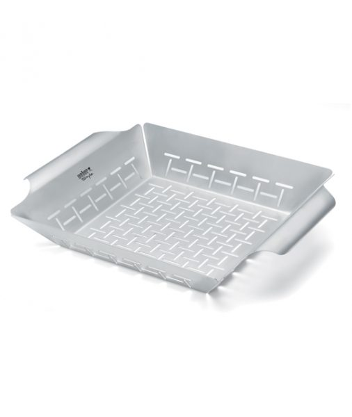 Weber® Stainless Steel Vegetable Basket
