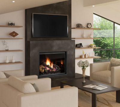 Lopi 864 Clean Face GS2 Inbuilt Gas Fireplace