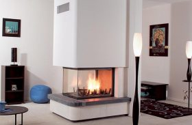 Axis EPI950 Inbuilt Wood Fireplace