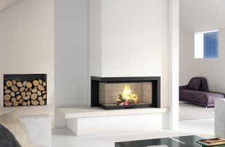 Axis H1200 VLG Inbuilt Wood Fireplace