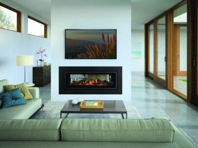 Regency GF1500L ST Double Sided Inbuilt Gas Fireplace