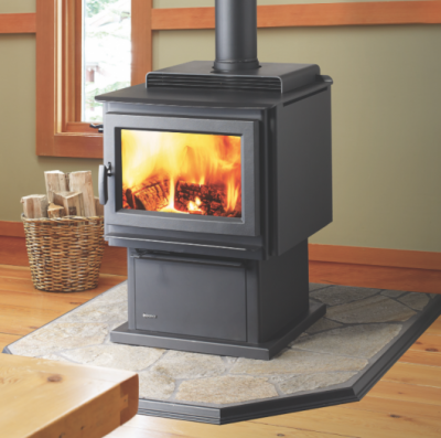 REGENCY KINGSTON HYBRID FREESTANDING WOOD FIREPLACE