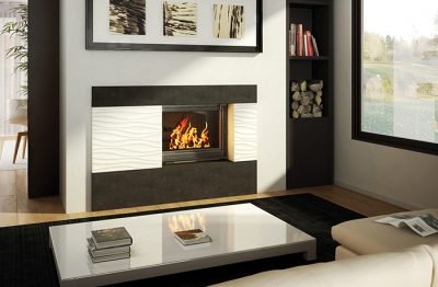 Seguin Europa 7 Cast Iron Cheminee Fireplace