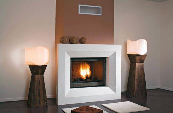 Seguin Super 9 Lift Cast Iron Cheminee Fireplace