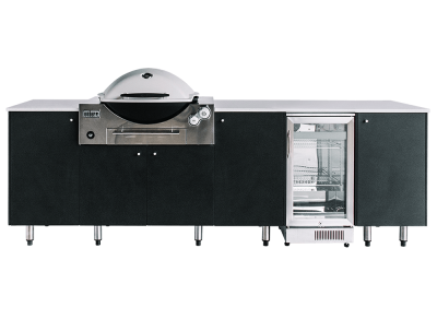 SustainaPod Elston Outdoor Kitchen for Weber Q3600 & Weber Summit BBQs