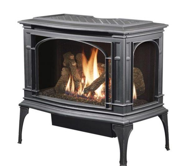 Lopi Greenfield GS2 Freestanding Gas Fireplace